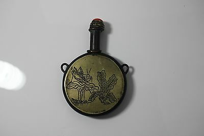 Antique Chinese Bronze Snuff Bottle