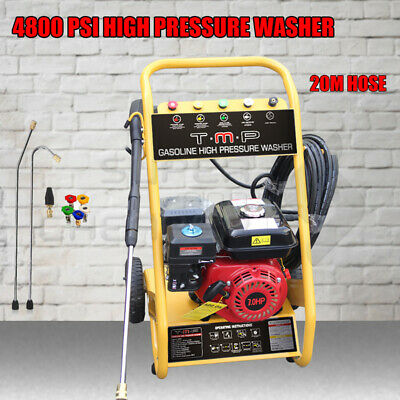 TmaxPro 3600 PSI High Pressure Water Cleaner Washer Gurney 8HP Petrol 20m Hose