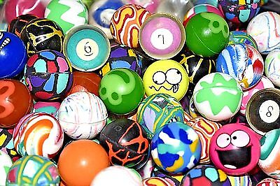"2000 Bouncy Balls Premium Quality 27mm 1"" Vending Super Balls Colorful RARE MIX!"