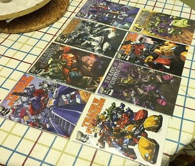 Transformers GENERATION 1 Set 1-4 Variants IDW 2002  8 iSSUES
