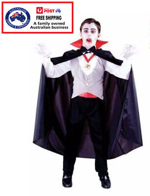 BOYS VAMPIRE COSTUME - fancy dress Halloween party kids fun scary dress up
