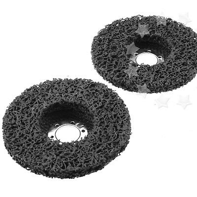 2pcs Paint & Rust Remover Grinder Wheel Disc For 115mm X 22.2mm Angle Grinders