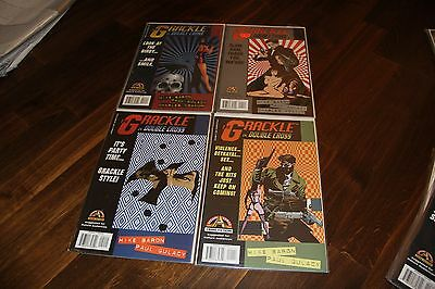 THE GRACKLE in Double Cross #1 2 3 4 * Acclaim Comic Books * UNREAD