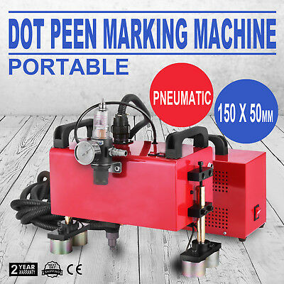 Portable Pneumatic Dot Peen Marking Machine 150 x 50mm HQ Hot Powerful Durable