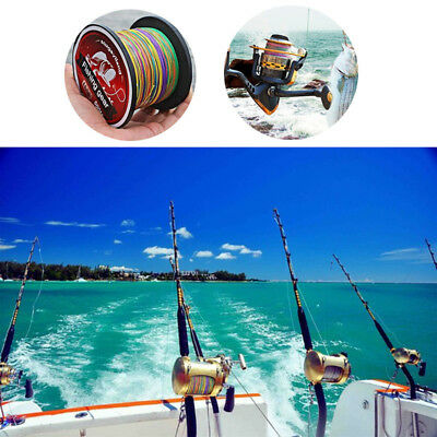 Superpower Super Strong Extreme PE Braided Sea Bass Fishing Line Superline 500M