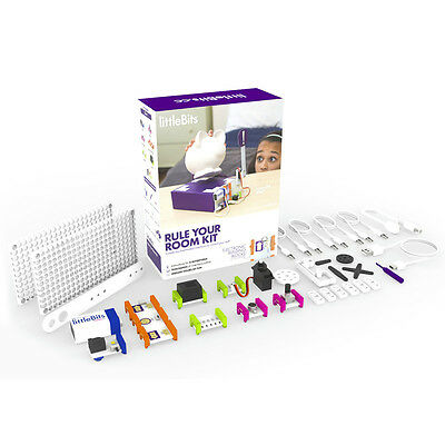 littleBits Rule Your Room Kit Electronic building blocks for inventing
