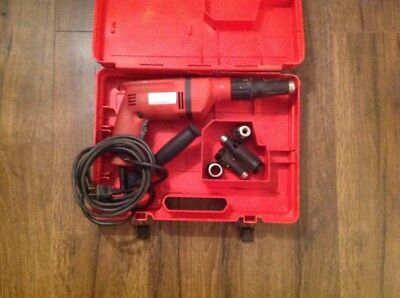 HILTI Kwik Tapper 2200 Drywall Dry Wall Screw Gun With Case
