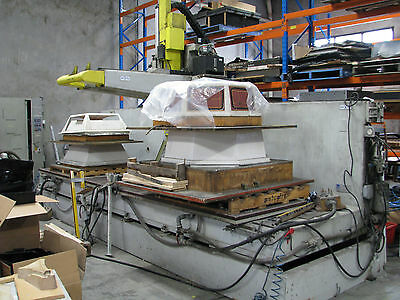2 x CNC 5-Axis Router Machines - CMS