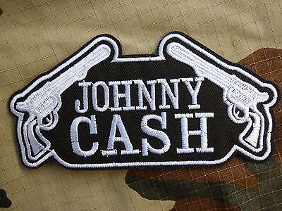 M202 ECUSSON PATCH THERMOCOLLANT toppa aufnaher JOHNNY CASH musique country rock