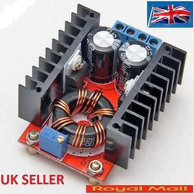 150W DC-DC Boost Converter 10-32V to 12-35V 6A Step Up Voltage Charger #B247