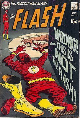 FLASH #191 (Sept 1969) Very Good