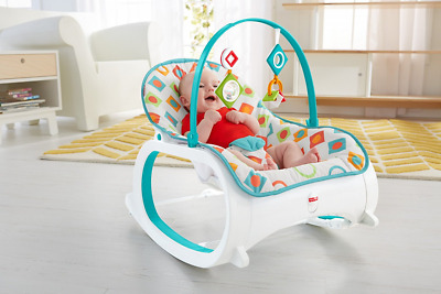 BEST Infant to Toddler Rocker Bouncer Seat Baby Chair Sleeper Swing Toy Portable