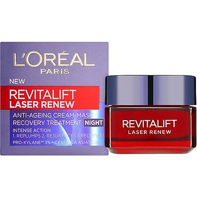 L'Oreal Revitalift Laser Renew 50ml Cream Anti Ageing CHOOSE FROM DAY / NIGHT