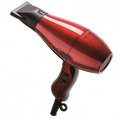 Elchim 3900 Red Ionic Professional Hair Dryer 2400W