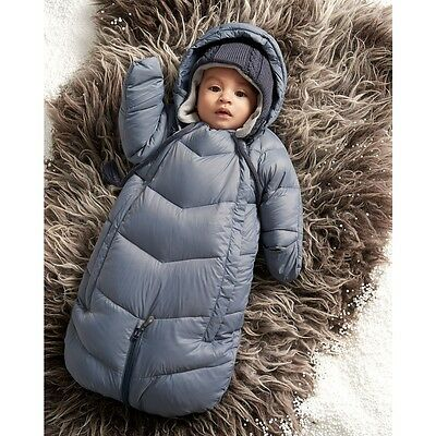 £110 Miniature Down Winter Sleeping Pram Bag Snowsuit Overall Breathable