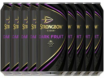 Strongbow Dark Fruit Cider 24x440ml **Kein Pfand!**