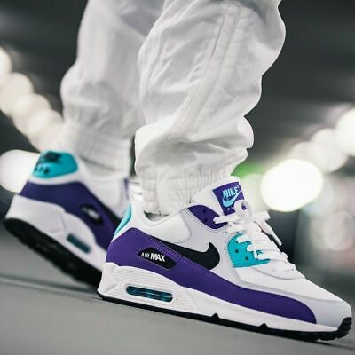 """85c820ab049 NIKE AIR MAX 90 Essential """"Grape"""" MEN S RUNNING SHOES LIFESTYLE COMFY  SNEAKERS"""
