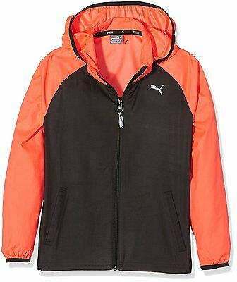 Puma Kids Youths Junior Training Windcell  Running Cycling Wind Jacket Coat Top
