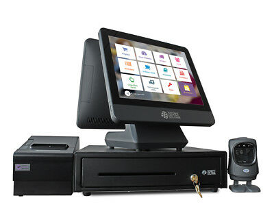 NRS POS Point of Sale System - Cash Register Bundle