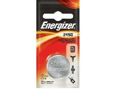 5-Pack CR2450 Energizer 3 Volt Lithium Coin Cell Batteries (On a Card)