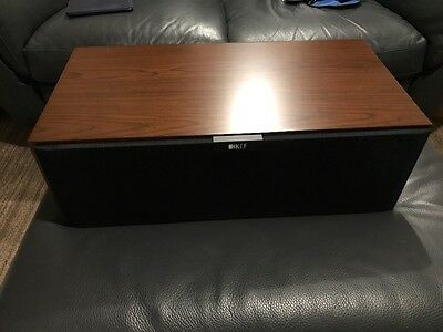 Kef r200c in Walnut...4 Weeks Old!!!