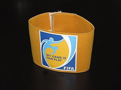 Messi Argentina Germany Holland Portugal Brazil Captain Armband Yellow FIFA