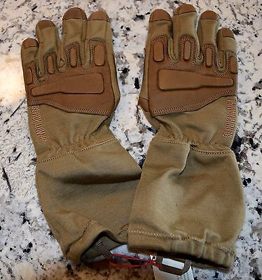 Nib Blackhawk! Fury Tactical Gloves With Nomex  Xlarge Tan