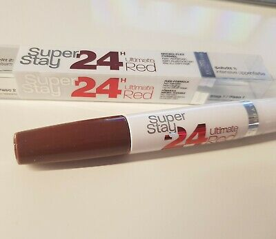 Maybelline New York Superstay 24H Color Lippenstift 575 Always Crimson Neu