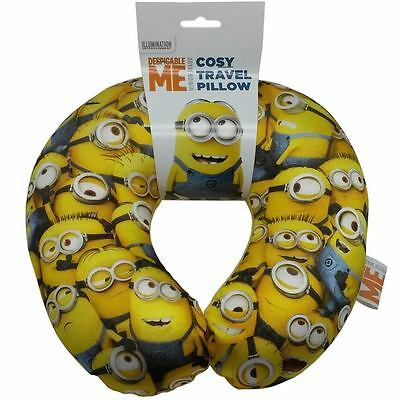 Minions Despicable Me travel pillow comfy cosy car pillow for kids