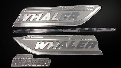 "Boston Whaler boat Emblem 20"" Epoxy Stickers Resistant to mechanical shocks"