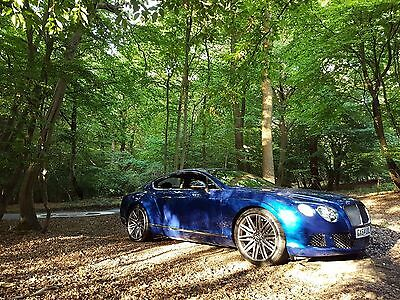 Luxury car hire Bentley Continental gt speed carbon edition