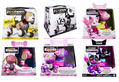 Zoomer Interactive Pets - Zuppies/Meowzies Cupcake/Candy/Tiger/Patches/Dalmatian