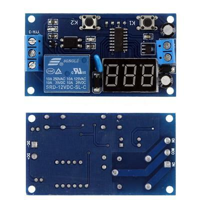 DC 12V LED Digital Delay Time Module Switch Control Relay Cycle Timer PCB Board