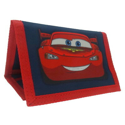 NEW OFFICIAL Disney Cars Lightning McQueen Boys Kids Coin Pocket Money Wallet