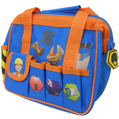 NEW OFFICIAL Bob the Builder Boys Kids Handbag Pencil Case Lunch Tool Wash Bag