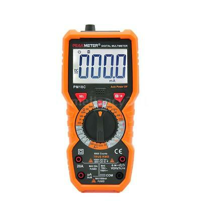 Digital Multimeter AC DC Voltage Current Frequency hFE NCV Tester True RMS A0F3