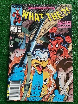 MARVEL What The?! Spider-Ham Versus Raven The Hunter 1988 #3