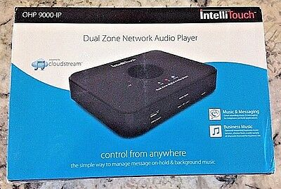 Intellitouch Dual Zone Digital Media Network Audio Player with Cloudstream