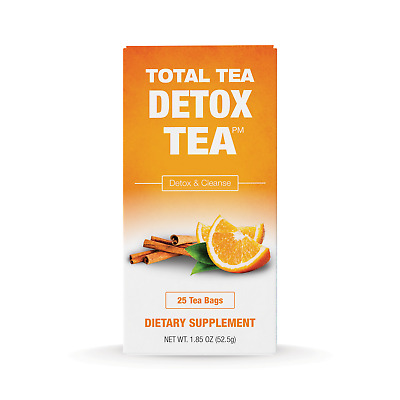 Total Tea Detox Tea | 100% Natural | Helps w/ Bloating Constipation | 25 teabags