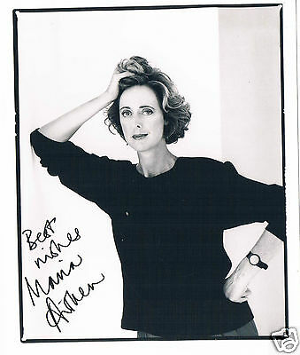 Maria Aitken  Actress  Hand Signed Photograph 8 x 6
