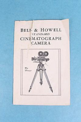 Vintage 1931 Bell & Howell Motion Picture Movie Cameras Advertising Catalog