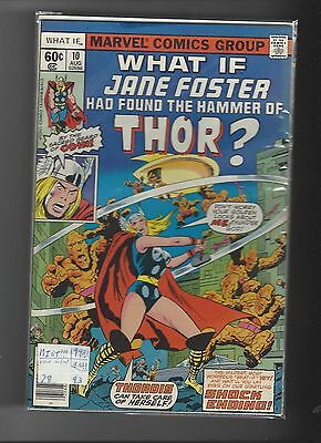 Marvel What if 10 Jane Foster had found the Hammer of Thor? NM-MT