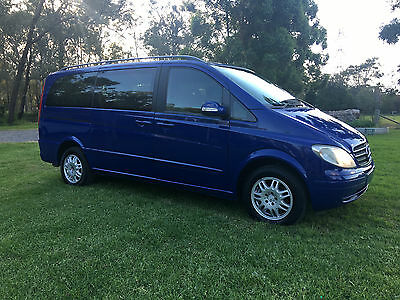MERCEDES-BENZ VIANO/VITO 7 SEATER, 2.2 TURBO DIESEL,AUTO,LOW KMs!! factory blue
