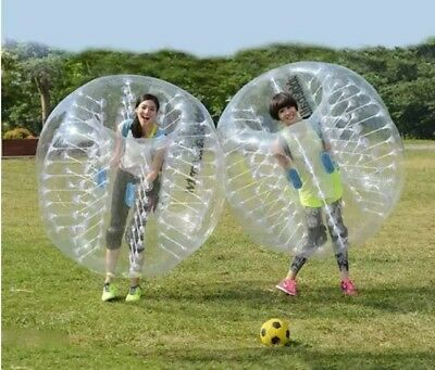 Body Inflatable Gum Bumper Football Zorb Ball Bubble Soccer Happy Game 1.0MM PVC