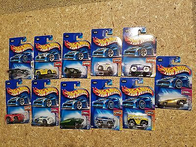 Mattel Hot Wheels 2004 First Editions 11 Cars Blings Tooned Hardnoze & More