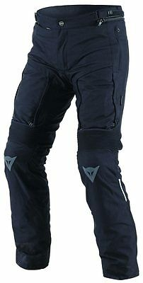 NEW Dainese D-Stormer D-Dry Pants SIZE 52 Black
