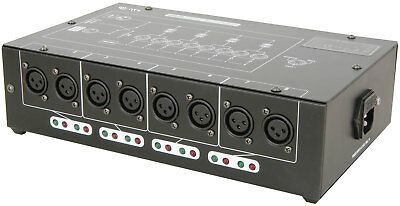 dmx-d8 - 8 VOIES DMX AMPLIFICATEUR / distributeur