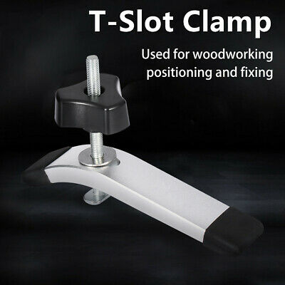 Metal Quick Acting Hold Down Clamps Knob for T-Slot T-Track Woodworking Tools SG