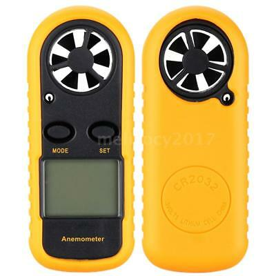 Handheld Digital LCD Anemometer Wind Speed Meter Temperature Thermometer L1M6