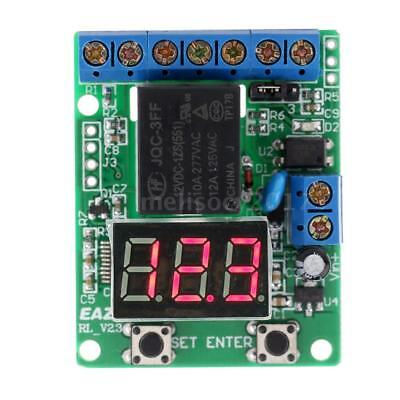 Voltage Detection Relay Switch Control Module Digital LED Display DC 12V R7C1